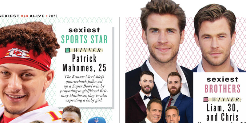 Photos: People Magazine's Sexiest Men Issue